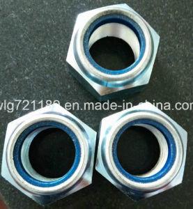 M45 DIN985 Nylon inserte las tuercas de fijación roscados