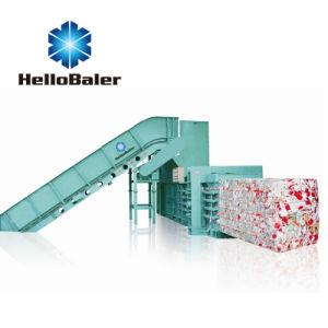 Hellobaler 10tons de enfardado automático de la máquina con el transportador Hfa10-15