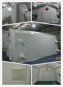 移動式堅の空気救急処置の膨脹可能な緊急のテント