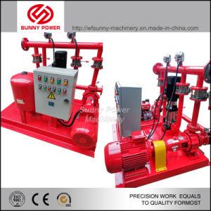 Diesel/bomba de agua eléctrica para la lucha contra incendios con alta presión