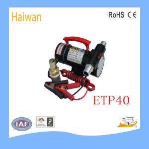 Diesel gelijkstroom Fuel Oil Transfer Pump Powered door 12V, 24V, met Self Priming