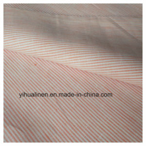 Tecido de linho puro 14X14 Chambray, 100% algodão Stripe tecido, camisa do tecido, Garmen tecido de linho, T-shirt tecido de linho, vestido tecido,