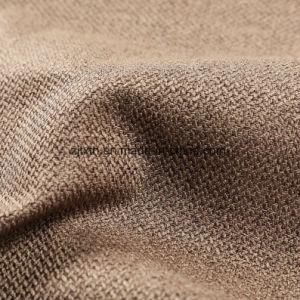 2018中国のための100%年ポリエステルリネンソファーおよび織布