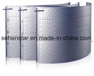 Chauffe-piscine plaque plaque d'oreiller de plaque de refroidissement