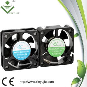 Ventilador médio do motor da C.C. do ventilador do refrigerador da velocidade PBT do refrigerador de ar do instrumento do ventilador de refrigeração do equipamento eletrônico com Ce e RoHS