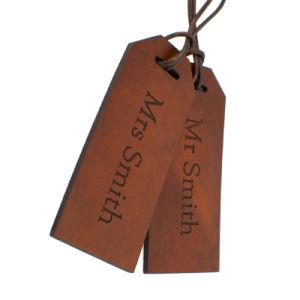 中国のジーンズのための安いカスタム浮彫りにされた革パッチ