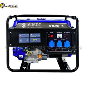 Directa de Fábrica de 5kw estilo Loncin generador motor de gasolina generador silencioso 188f Loncin