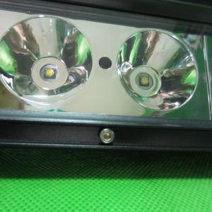 12 barre d'éclairage LED de pouce 60W pour l'entraîneur tous terrains de bateau de camion d'ATV 4X4 pilotant la marine