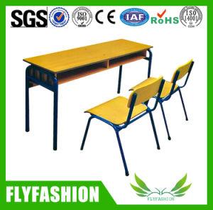 خشبيّة أثاث لازم مدرسة طاولة ومقادة ([سف-09د])