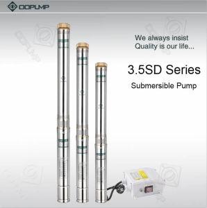 0,25 KW 3.5SDM4/5 de acero inoxidable 4m3/H bomba sumergible