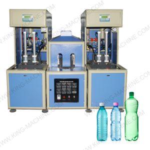 Semiautomáticos máquina de sopro de garrafas PET