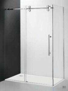 Venta fácil deslizamiento de la Puerta de ducha con el rodillo LD001