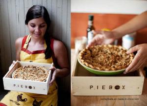 Caixa de pizza de madeira sólida caixa de madeira para armazenamento de alimentos