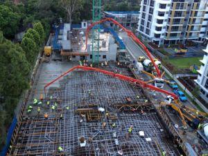 De moderne Machine van de Concrete Pomp van Ontwerpen met Goede Prijs