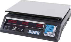 bilancia elettronica Backlit colta facile della visualizzazione di LED dell'affissione a cristalli liquidi 30kg