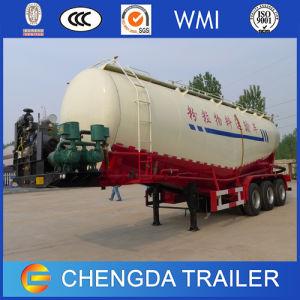 트럭 판매를 위한 세 배 반 차축 45cbm 시멘트 유조선 트레일러