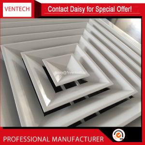 中国の製造者アルミニウム4方法天井の拡散器カバー