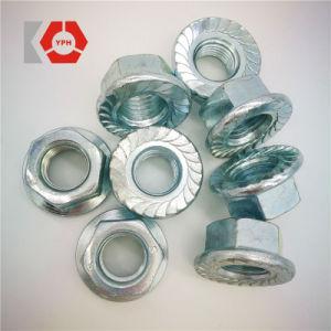 La norme DIN6923 l'écrou à embase hexagonale en acier au carbone