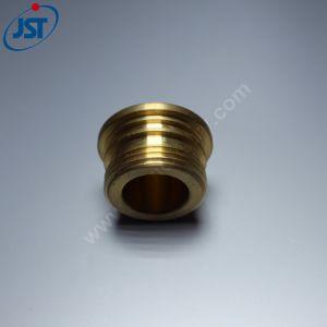 Il CNC ha lavorato la protezione alla macchina d'ottone del serbatoio di combustibile del filetto di alta precisione