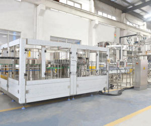 Produtos de Plástico automática 3 em 1 bebida de líquido do equipamento de embalagem de Enchimento de garrafas de água a beber água máquina de engarrafamento equipamento fabril