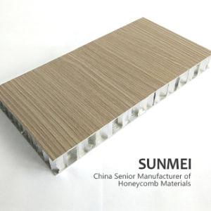 Preformated aluminium Panneau alvéolé pour la décoration