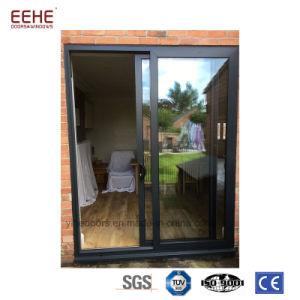 Ventana y puerta de aluminio de desplazamiento con diseño de la parrilla/de la red