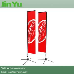 4.30m高い浜の長方形は表示のための旗にフラグを付ける