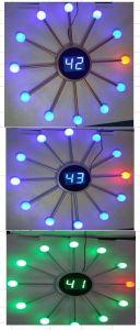 Pelota araña Sol Shap emisores LED Reloj Digital con diferente color
