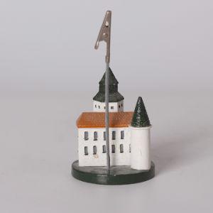 良質の樹脂の漫画の小さい家の名刺のメモクリップ