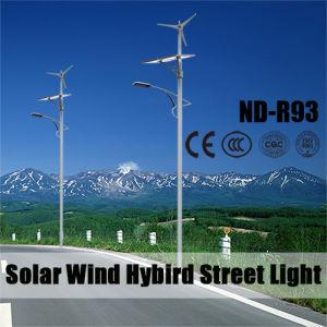 Híbrido Solar-Wind luz de la calle de la autopista, jardín, zona pública