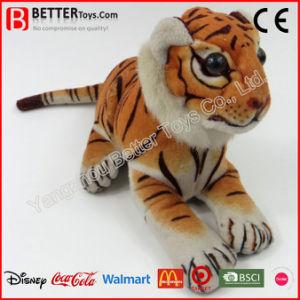 Giocattoli molli dell'animale farcito di ASTM della tigre realistica realistica della peluche