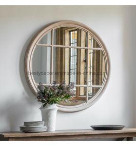 Houten Frame om Venster van de Spiegel van de Muur het Decoratieve