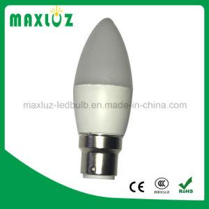 Barato C37 4W luz de velas LED IC de alumínio do condutor