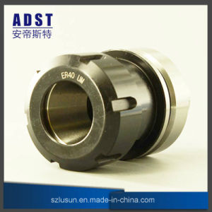 Portautensile del mandrino di anello Hsk63f-Er40-80 per la macchina di CNC