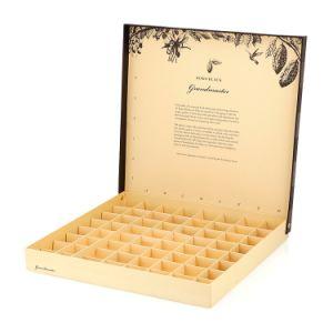 Magnético de chocolate de lujo boda Caja de regalo de envases de cartón de papel