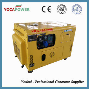 Generatore portatile elettrico Genset di doppia del cilindro piccola potenza di motore diesel