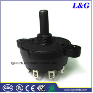 Atenuadores sp8t 8 Interruptor Rotativo do seletor de velocidade