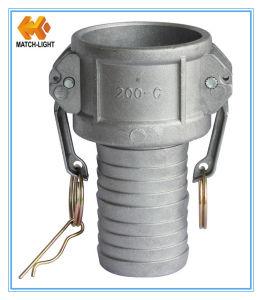 Accoppiamento di tubo flessibile di alluminio di Layflat del Camlock per il tubo flessibile di Layflat