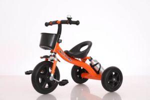 銀製の車輪の赤ん坊の三輪車、子供三輪車、子供の三輪車