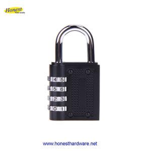 أسود 4 رقم إدماج حقيبة رمز تعقّب هويس كلمة سرّ قفل