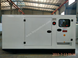 Silent мощность дизельного двигателя электрический генератор в китайском дизельного двигателя (20КВТ~200квт)