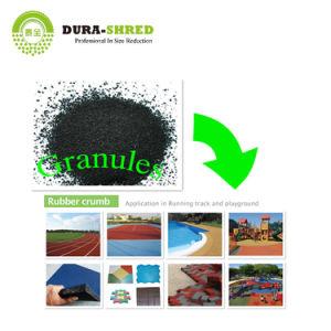 La tecnología de reciclaje de residuos Dura-Shred