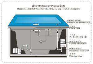 La bomba de soplado de aire (APD), con CE aprobada