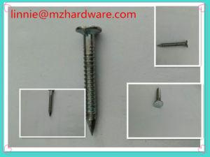 Electro-Galvanized Spijkers van het Dakwerk van de Invloed met de Steel van Ringen