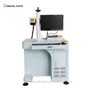 De Gravure die van de Laser van Co2 van de Desktop van de Luchtkoeling CNC 20W Machine merkt