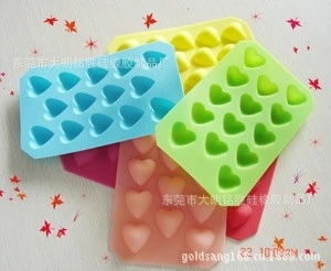 Hot Sell Food Grade Silicone Cake Mould Baking Tools Ice Tray