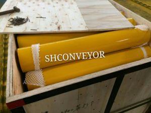 Rolo de tela plana de transportadores de correia, rolete de aço para os transportadores de cimento