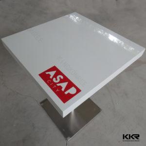 Accueil Mobilier Corian blanc Café 700*700 tables à manger