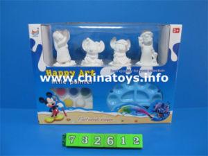 Juguetes de plástico de juguete de bricolaje pintura, herramienta de escritura. (732612)