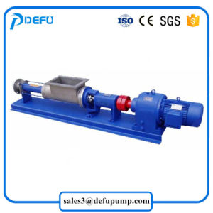 Déplacement positif vis mono unique pour la pompe de liquide à haute viscosité